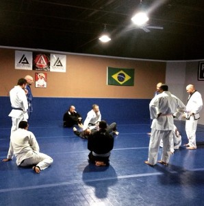 Training at 302 Brazilian Jiu Jitsu